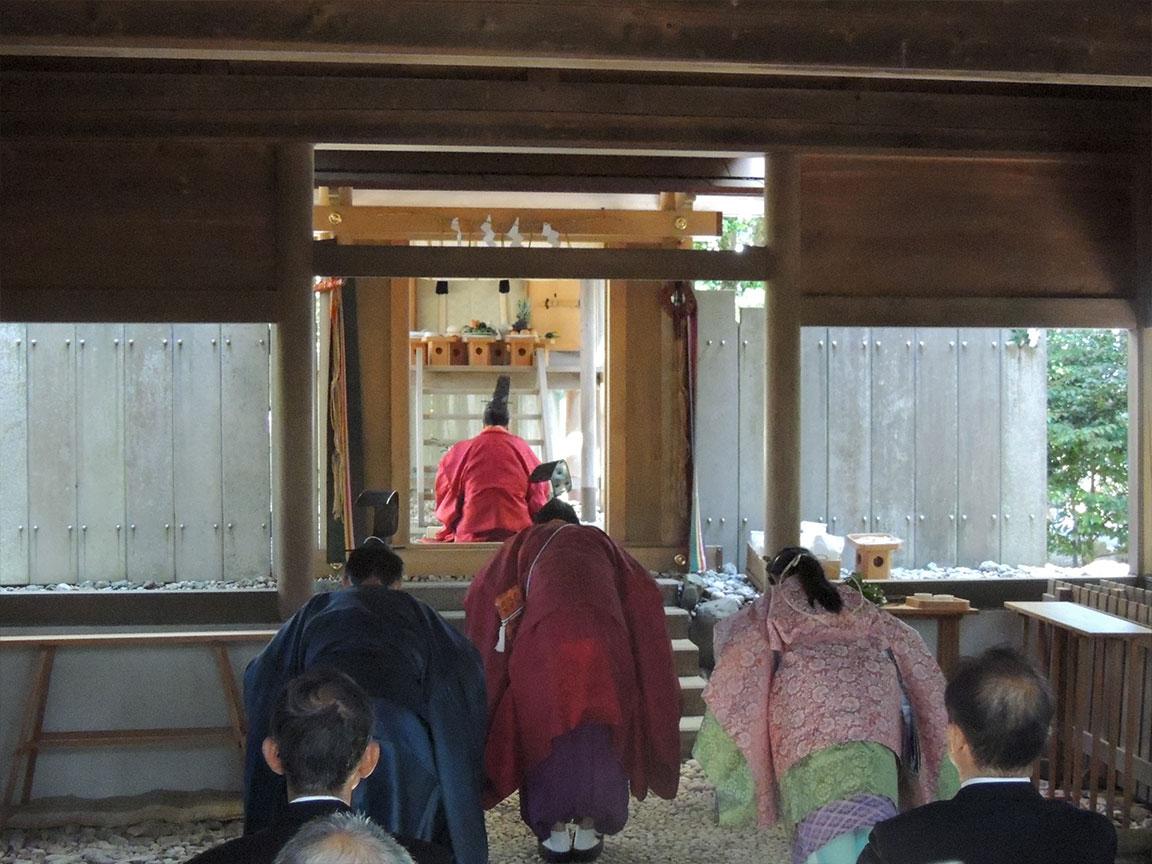 栄野神社新嘗祭